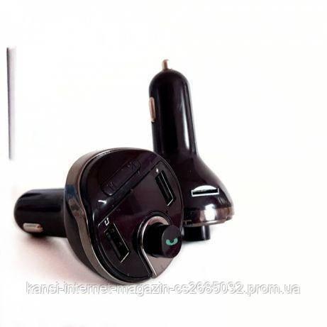 FM  модулятор с Bluetooth X19, автомобильный фм модулятор, ФМ трансмиттер