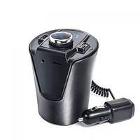 FM-трансмітер H26 Bluetooth, автомобільний фм модулятор