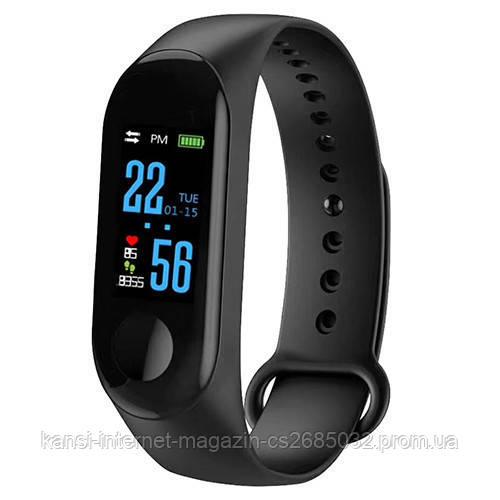 Часы Smart Xiaomi Mi Band M3, фитнес трекер Smart Bracelet M3, фитнес браслет