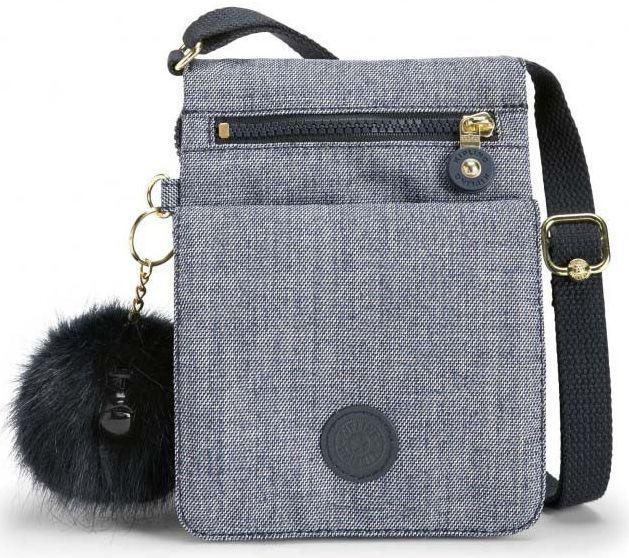 Наплечная женская сумка Kipling ELDORADO K20195_F27, синий