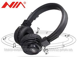 Наушники Bluetooth NIA-X5SP 2 в 1 наушники + колонка, Наушники беспроводные, блютуз наушники с колонкой
