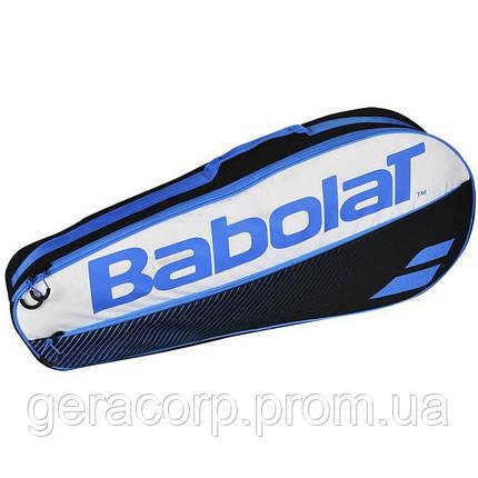Чехол Babolat RH X 3 essential club blue, фото 2