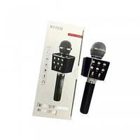 Беспроводной микрофон караоке WS 1688,  Bluetooth микрофон со встроенной колонкой