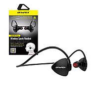 Беспроводные Bluetooth наушники Awei A847BL  Sport, беспроводные вакуумные наушники, спортивные наушники