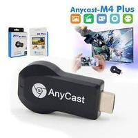 Медіаплеєр Miracast AnyCast M4 Plus HDMI з вбудованим Wi-Fi модулем, приймач HDMI, медиаустройство