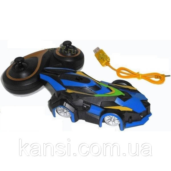 Антигравитационная машинка Wall Climber  МХ-08,  детская гоночная машинка, Антиграв