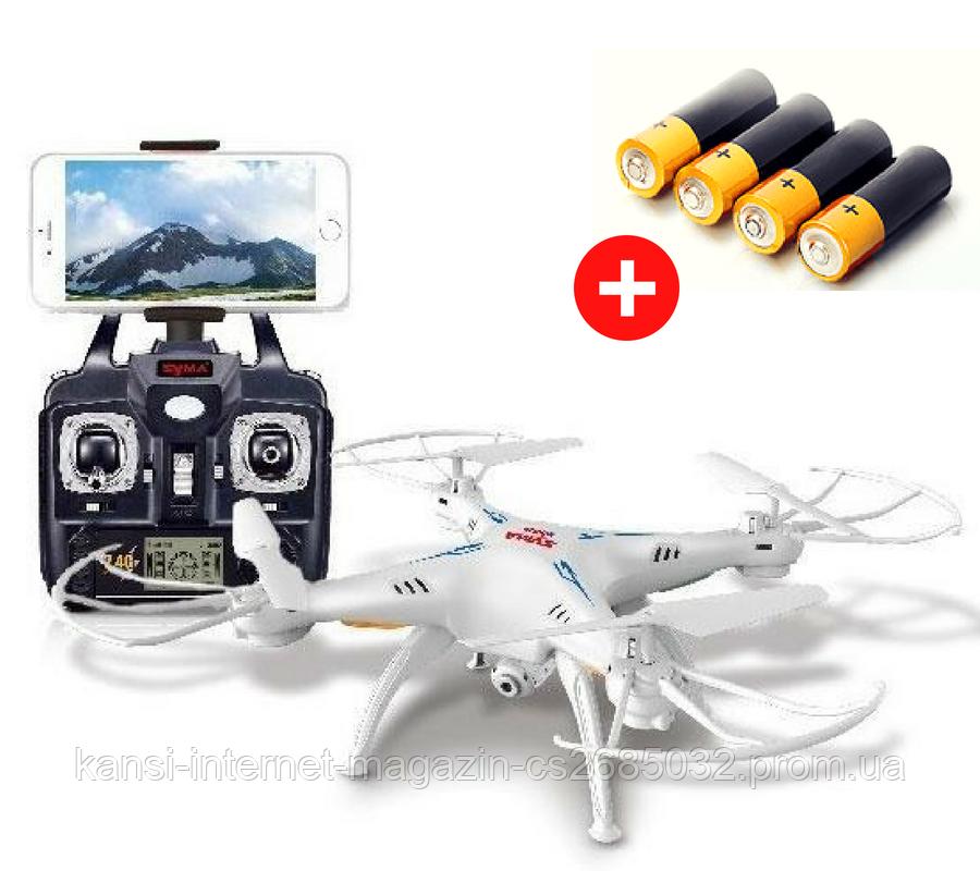 Квадрокоптер Drone 1 Million c Wi-Fi камерой, летающий дрон, квадрокоптер