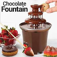 Шоколадный фонтан Chocolate Fondue Fountain,фондюшница, фондю фонтан