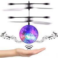 Летающий светящийся мяч Sensor Flying Ball, летающая игрушка