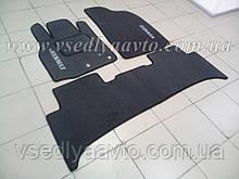 Ворсовые коврики в салон Renault Scenic 3 с 2009 г. (Серые)
