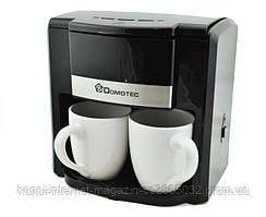 Кавоварка, крапельна Domotec MS 0708 + 2 чашки,електрична кавоварка,кавоварка,кофеаппарат