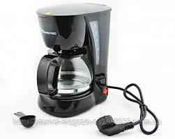 Кофеварка электрическая капельная Domotec MS 0707,кофеаппарат, кофемашина