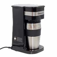 Кавоварка, крапельна Domotec MS 0709 з металевої термокружкой, кофемашина, кофеаппарат