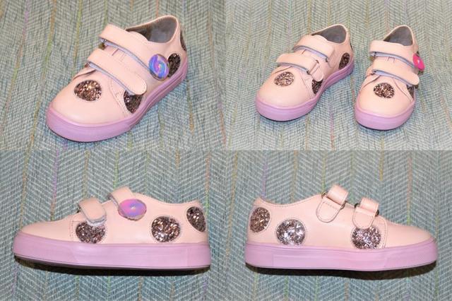 Дитячі туфлі на липучці, Belali фото