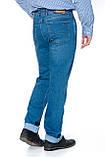 """Мужские джинсы Franco Benussi 19-420 Torino L 36"""" синие, фото 6"""