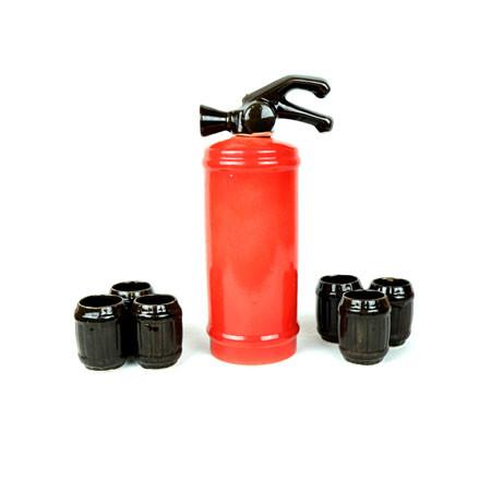 Огнетушитель красный  - подарочный набор для спиртного