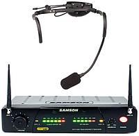 Samson SW7AVSCV10 UHF AirLine77 w/QV10 радиосистема UHF с головным микрофоном