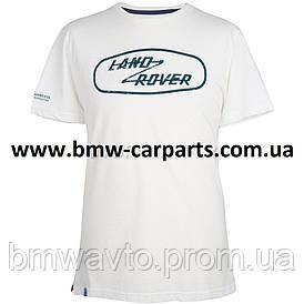 Мужская футболка Land Rover Men's Heritage Graphic T-Shirt, White