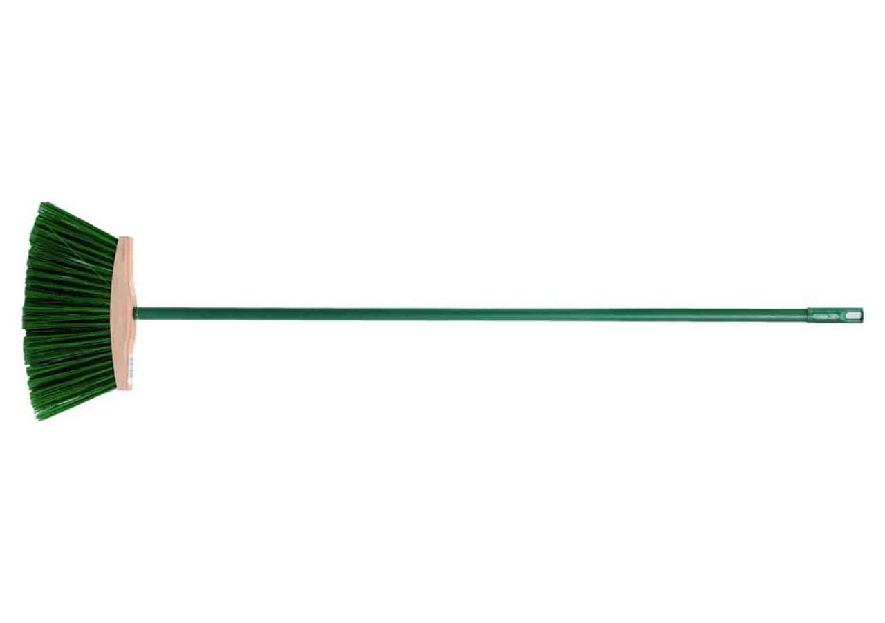 Щетка уличная с длинным ворсом и ручкой 250 мм - VIROK