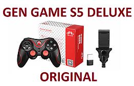 ⭐ S5 Deluxe Геймпад + КРЕПЛЕНИЕ + АДАПТЕР ПК ⭐ Джойстик для TV, PC iOS, Android, ТВ приставки