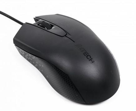 Мышь компьютерная A4 Tech OP-760 USB Black, фото 2