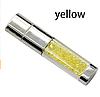 Ювелирная флешка с кристаллами желтая Flash Memorystick 16гб