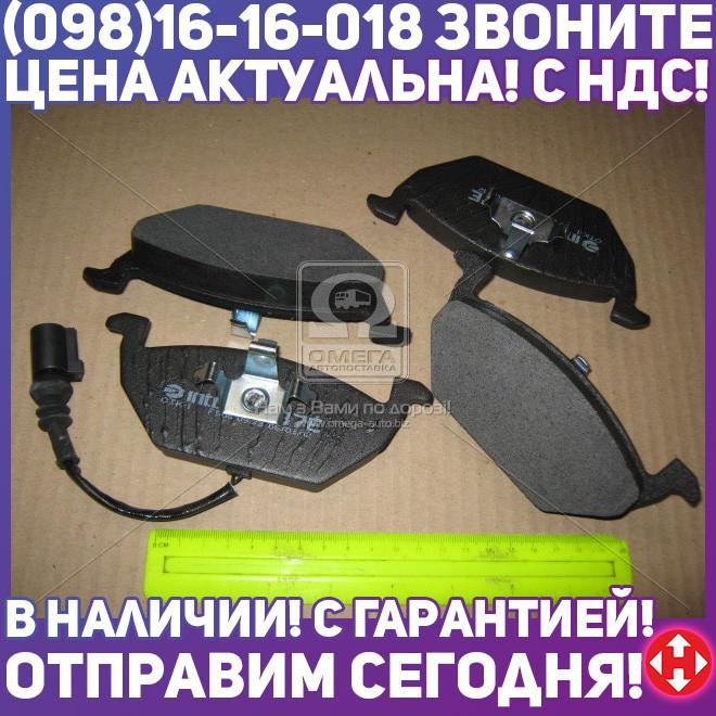 ⭐⭐⭐⭐⭐ Колодки тормозные передние (с датчиком ) (производство  Intelli)  D137EI