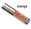 Ювелирная флешка с кристаллами оранжевая Flash Memorystick 16гб