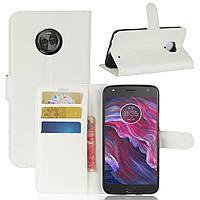 Чехол-книжка Litchie Wallet для Motorola Moto X4 XT1900 Белый