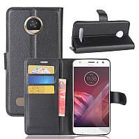 Чехол-книжка Litchie Wallet для Motorola Moto Z2 Play XT1710 Черный