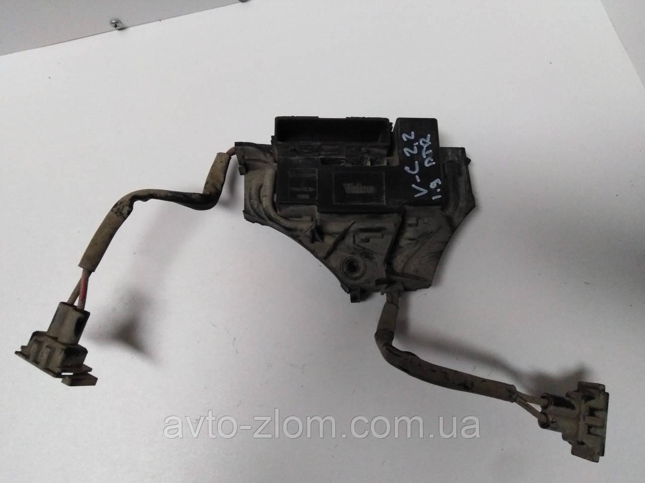 Резистор, блок управления вентиляторами Opel Vectra C, Опель Вектра Ц 1,9 - 2,2. 1379131.