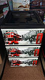 Комод пластиковый элиф Лондон на 3 ящика, фото 2