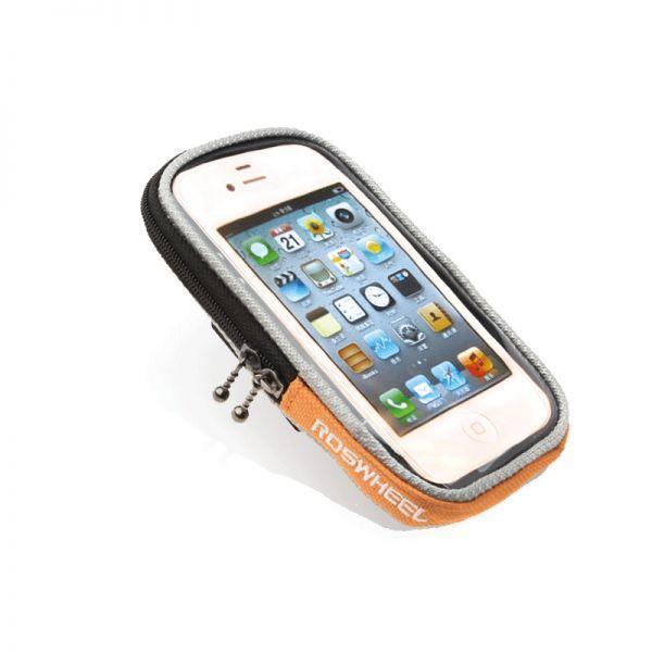 Сумка на кермо під смартфон Roswheel 11363L-H помаранчевий