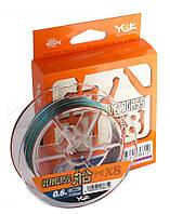 Шнур плетений YGK Veragass PE x8 #0.6/0.128мм намотка 150м оригінальний