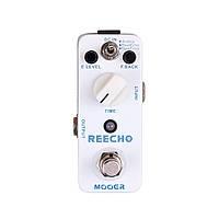 Mooer Reecho педаль для гитары, эффект задержки