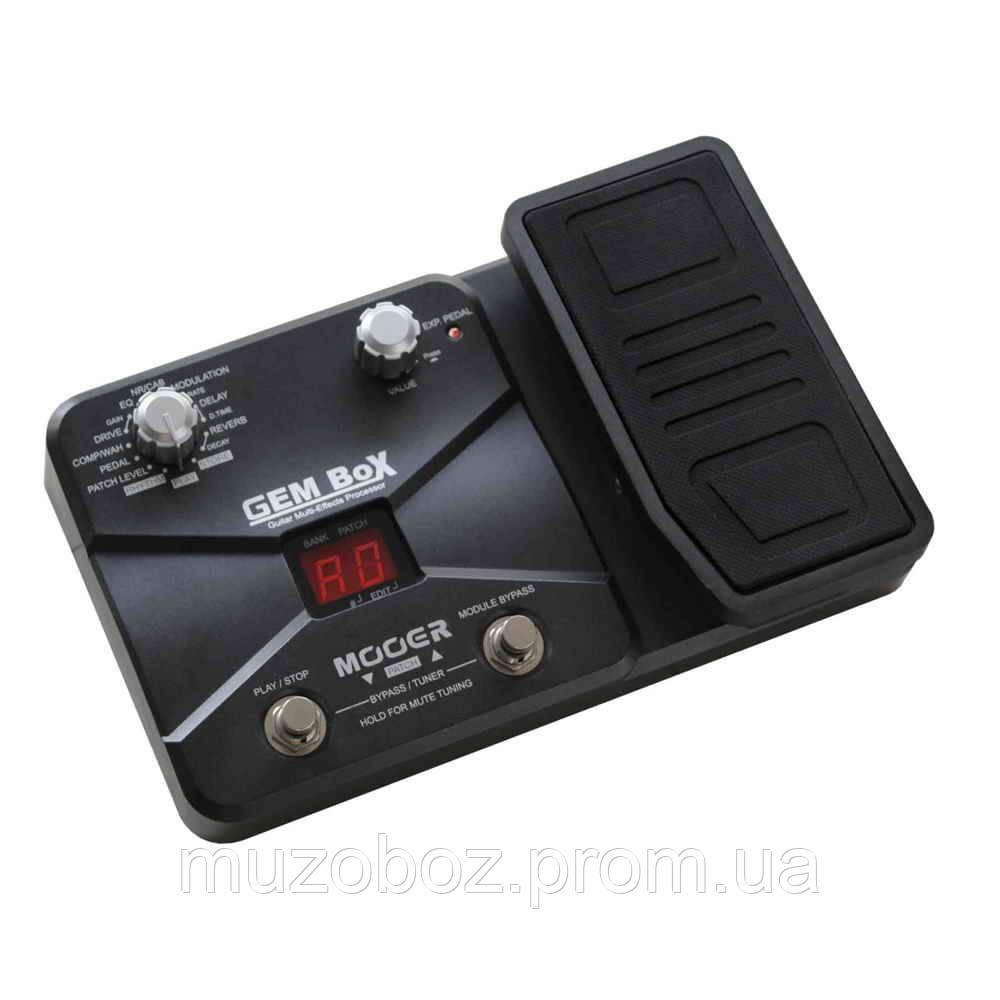 Mooer Gem Box процессор для электрогитары