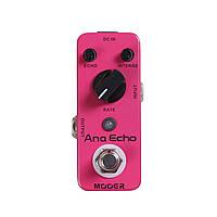Mooer Ana Echo педаль для гитары, эффект Delay