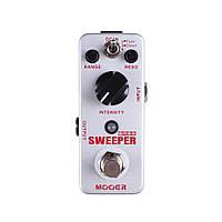 Mooer Sweeper педаль для бас- гитары гитары, эффект Clean/Fuzz