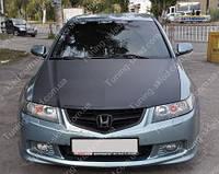 Обвес Хонда Аккорд 7 (передняя, задняя накладка Honda Accord 7 Type S)