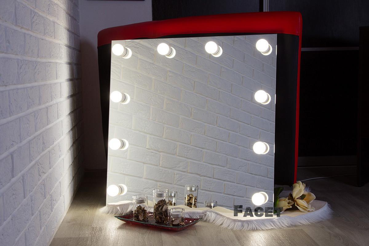 """Визажное Дзеркало з підсвічуванням, дзеркало з лампами """"Кріс"""""""
