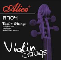 Alice A704 Violin Stings комплект струн для скрипки