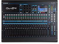 Allen Heath Qu-24 цифровой микшерный пульт, 24 моно + 3 стерео канала