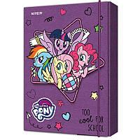 LP19-210 Папка картон для тетрадей на резинках В5 KITE 2019 My Little Pony 210