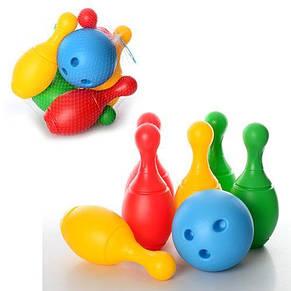 Набор для игры в боулинг (шар и 6 кеглей) Технок 2780, фото 2