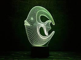 "Сменная пластина для 3D ламп ""Коралловая рыбка"" 3DTOYSLAMP"
