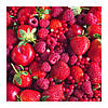 SMÅTREVLIG, Ароматическая свеча в стакане, Красная смесь ягод, красный 703.377.15, фото 3
