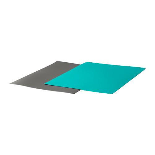 Гибкая разделочная доска икеа FINFORELLA, темно-серый, темная бирюза, IKEA, 303.358.98