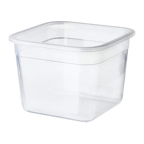 Контейнер для зберігання продуктів IKEA 365+ 1.4 л квадратний пластик 903.591.79