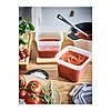 Контейнер для зберігання продуктів IKEA 365+ 1.4 л квадратний пластик 903.591.79, фото 3