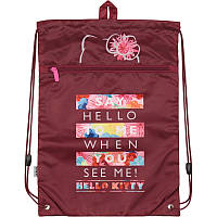 HK19-601M Сумка для обуви с карманом Kite 2019 Education Hello Kitty 601M